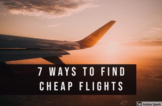 7 Way to Find Cheap Flights